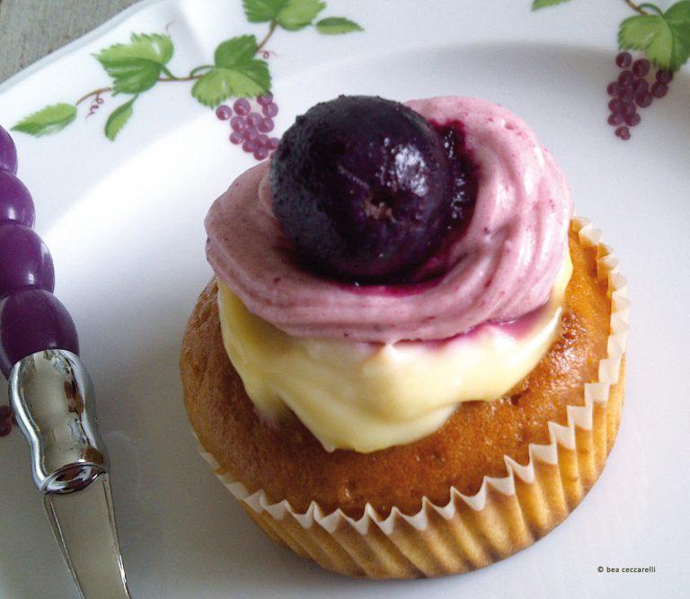 «Cerise sur le gâteau» Cupcake cerises, citron