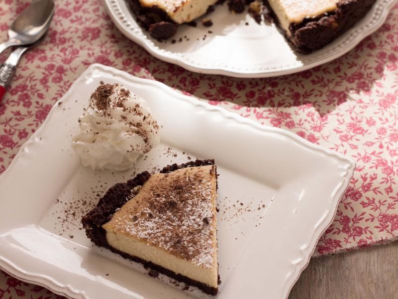Cheesecake végane