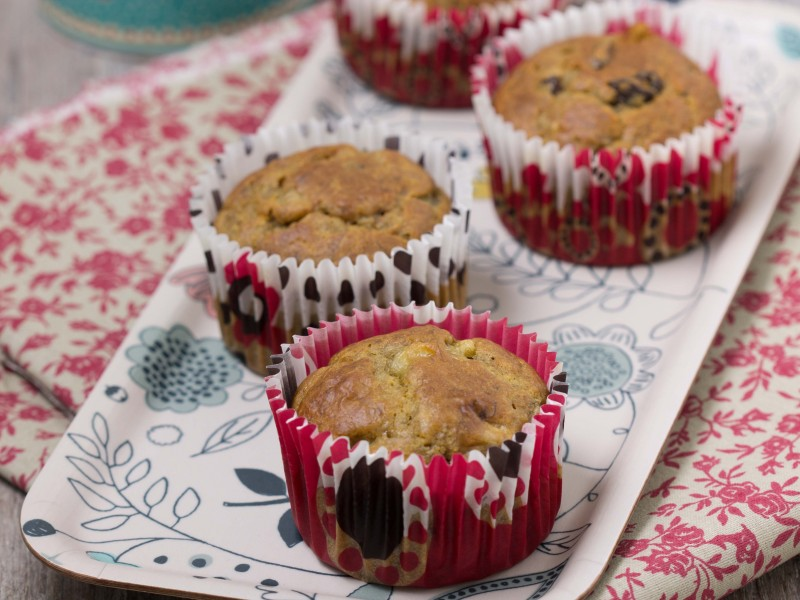Muffins véganes