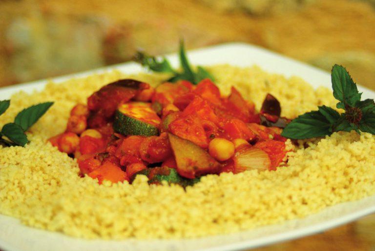 Couscous express aux légumes, pour débutants