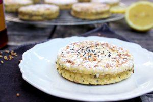 Welshcake au citron et graines de pavot