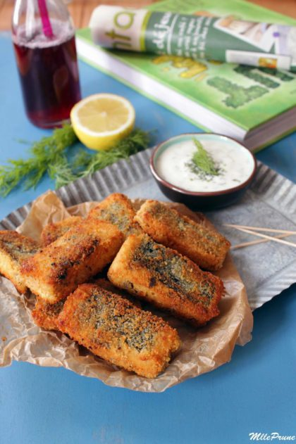 Vegan fish sticks !