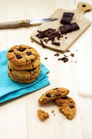 Cookies pépites de chocolat et sirop d'érable