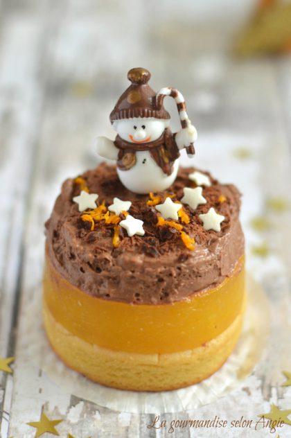 Dessert de Noël lupin, orange & chocolat