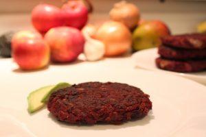 Burger / steak betterave