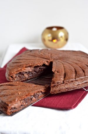 Galette des rois au chocolat et noix de coco