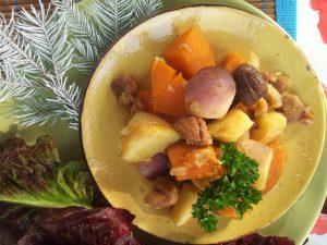 Potée aux légumes racines