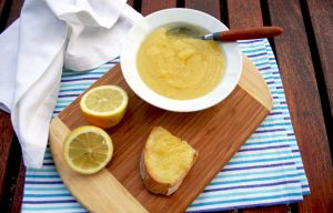 Lemon curd vegan
