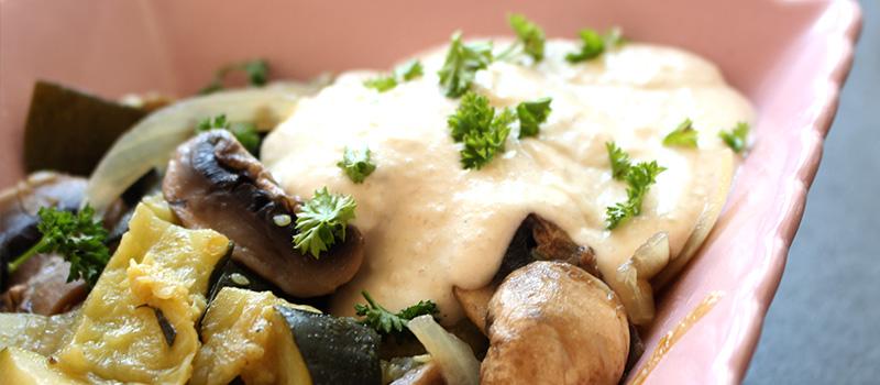 Sauce fromag re cr meuse recette vegan pratique - Recette tacos sauce fromagere ...
