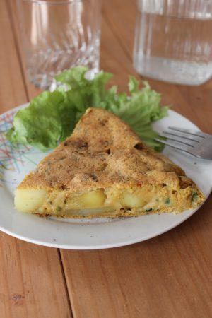 Tortilla végétale espagnole