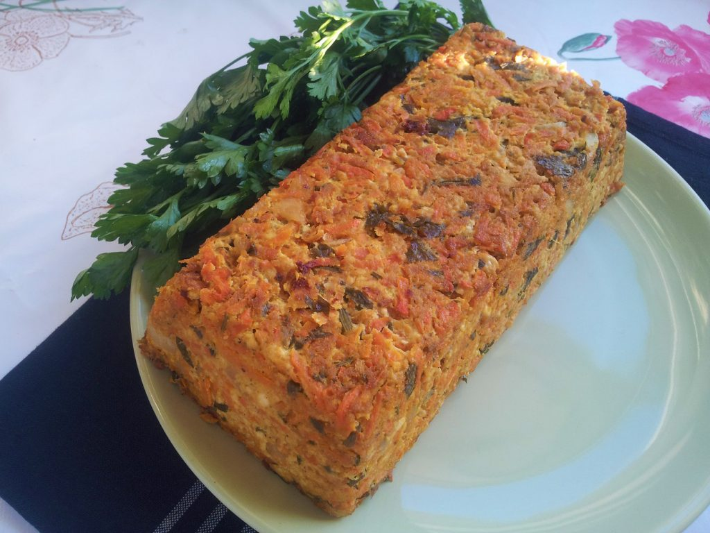 terrine tofu carottes recette vegan pratique. Black Bedroom Furniture Sets. Home Design Ideas