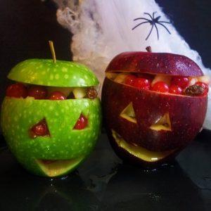 Monstro pommes d'Halloween