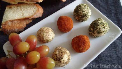Petites boules de fromage aux lupins