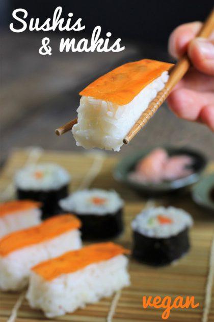 Sushis et makis « façon saumon »
