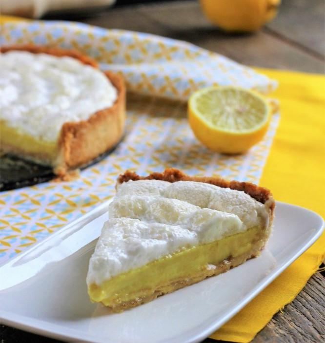 Tarte Au Citron Meringuee Recette Vegan Pratique