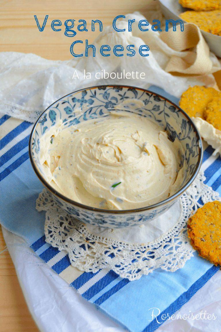 Cream cheese à la ciboulette