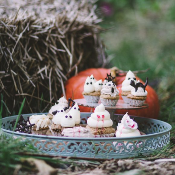 Cupcakes d'Halloween