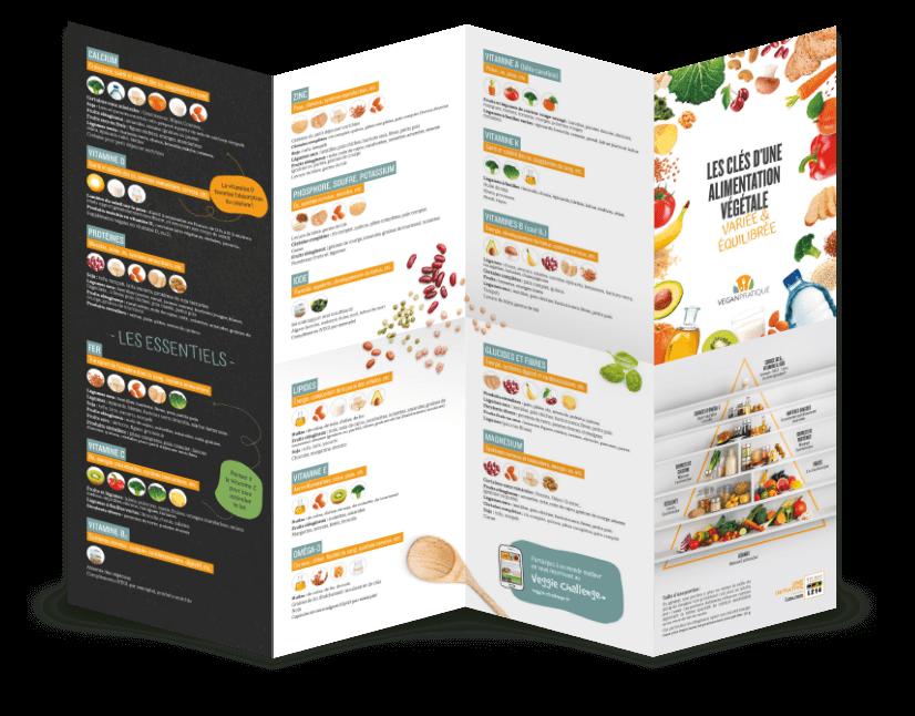 Tableau nutritionnel vegan