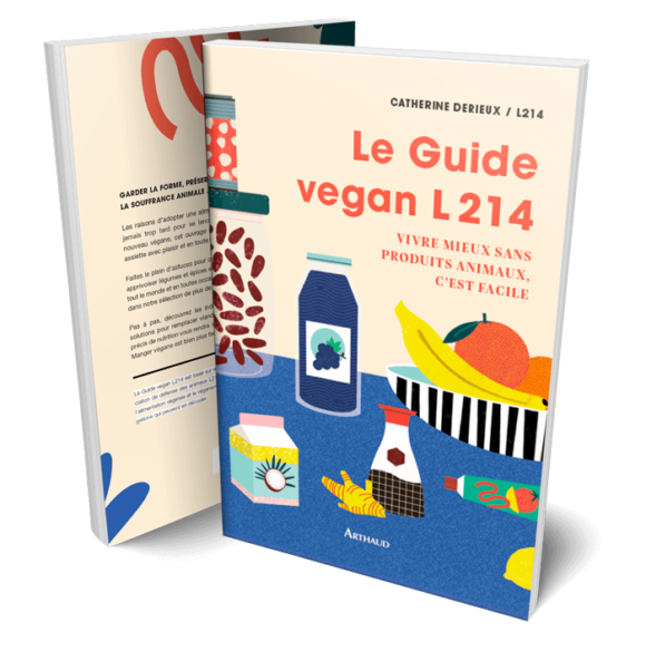 Couverture Le Guide vegan L214
