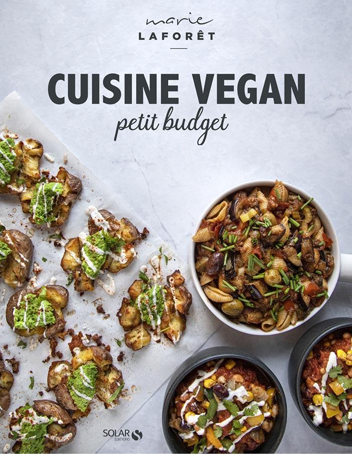 Couverture Cuisine vegan petit budget