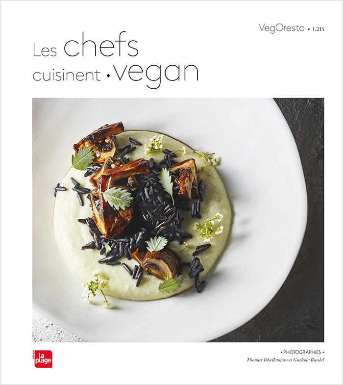 Couverture Les chefs cuisinent vegan