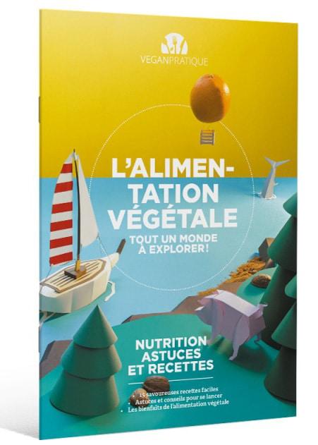 Brochure L'alimentation végétale, tout un monde à explorer